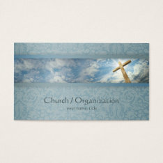 Christianity-religious Cross Business Card at Zazzle