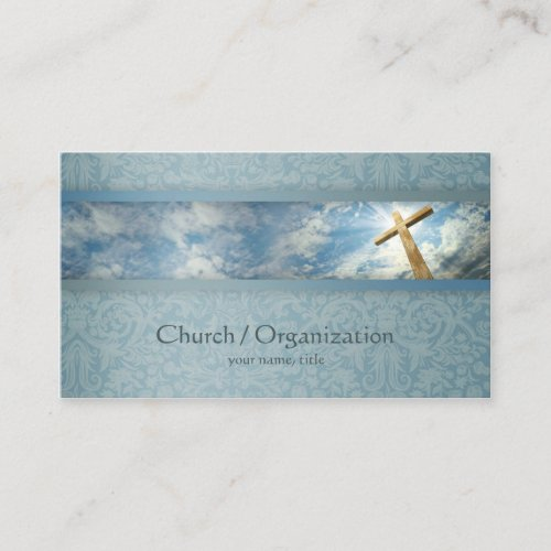 Christianity_Religious Cross Business Card