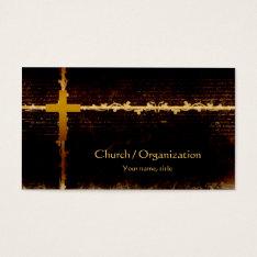 Christianity - Vampire Theme Dark Business Card at Zazzle