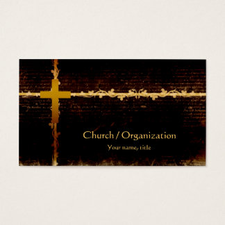 Christianity - Vampire Theme Dark Business Card