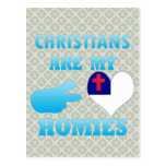 Christians are my Homies Post Cards
