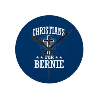 CHRISTIANS FOR BERNIE SANDERS ROUND CLOCK