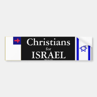 Christians for ISRAEL Bumper Sticker