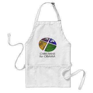Christians for Obama 2012 Adult Apron