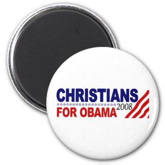 Christians For Obama Magnet