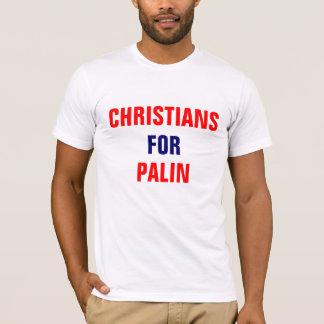 CHRISTIANS, FOR, PALIN T-Shirt