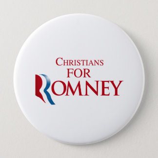 CHRISTIANS FOR ROMNEY.png Pinback Button