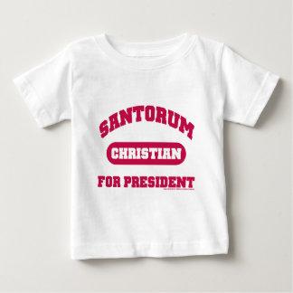 Christians for Santorum Baby T-Shirt
