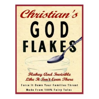 christian's god flakes...