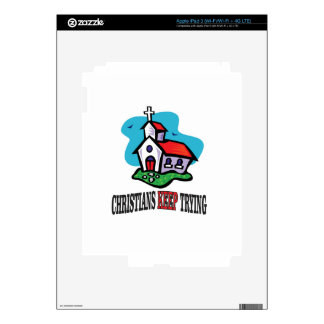 christians keep trying skins for iPad 3