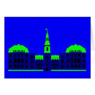 Christiansborg - blue card