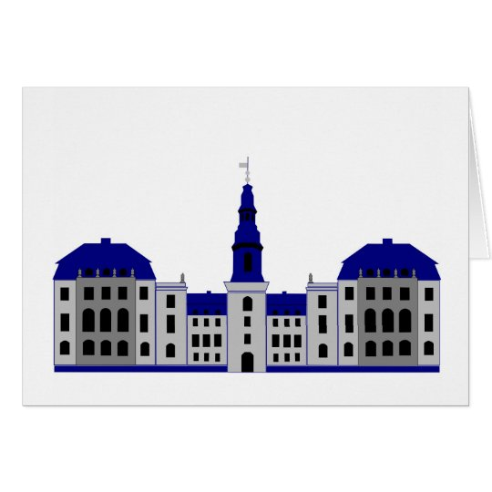 Christiansborg - white card