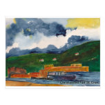 Christiansted Greeting Card Postcard
