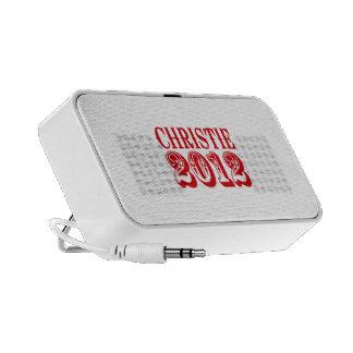 CHRISTIE 2012 T-SHIRT NOTEBOOK SPEAKERS