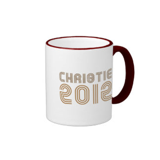 CHRISTIE 2012 (VINTAGE) MUG