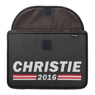 Christie 2016 (Chris Christie) MacBook Pro Sleeve