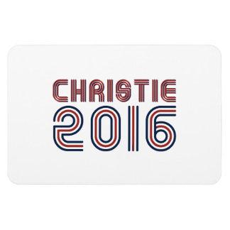 CHRISTIE 2016 LINE RETRO -.png Rectangular Photo Magnet