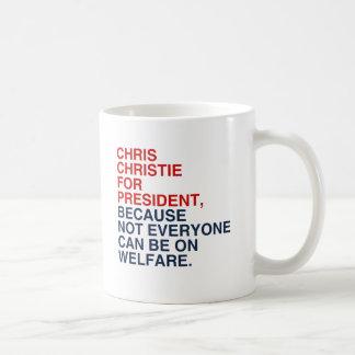 CHRISTIE 2016 WELFARE COFFEE MUGS