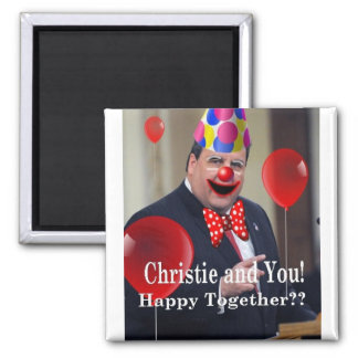 Christie and You! 2 Inch Square Magnet