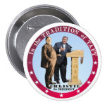 Christie for President 2016 3 Inch Round Button