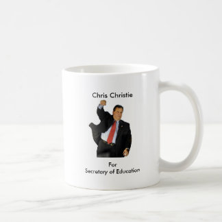 Christie For Secretary of Education Coffee Mug