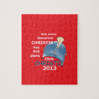 Christie Governor 2013 Jigsaw Puzzle