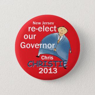 Christie Governor 2013 Pinback Button