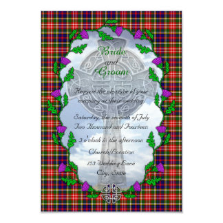 Christie Scottish Wedding Invitation