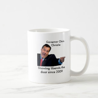 Christie Showing Liberals the Door Coffee Mug