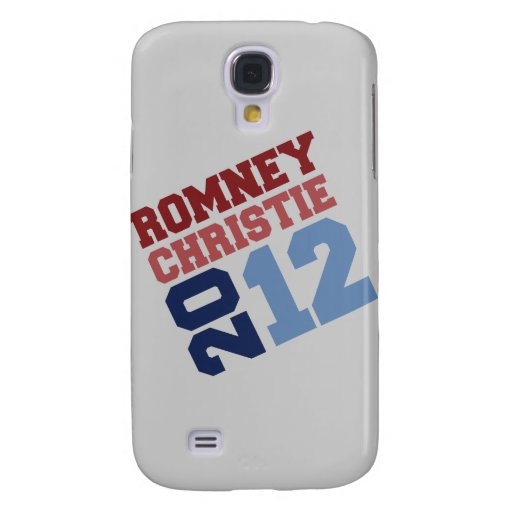 CHRISTIE VP TILT.png de ROMNEY Funda Para Galaxy S4
