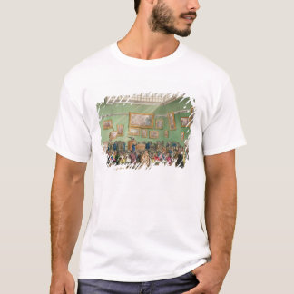 Christie's Auction Room, aquatinted by J. Bluck T-Shirt