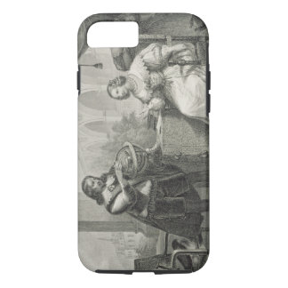 Christina (1626-89) Queen of Sweden, from a series iPhone 8/7 Case