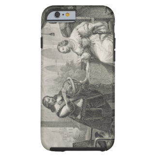 Christina (1626-89) Queen of Sweden, from a series Tough iPhone 6 Case