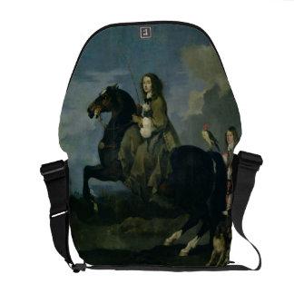 Christina de Suecia (1626-89) a caballo, 1653 ( Bolsas De Mensajeria