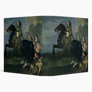 Christina of Sweden (1626-89) on Horseback, 1653 ( Binder