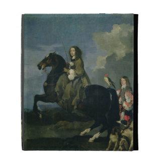 Christina of Sweden (1626-89) on Horseback, 1653 ( iPad Case
