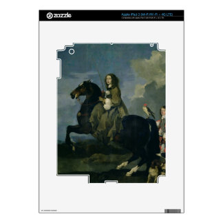 Christina of Sweden (1626-89) on Horseback, 1653 ( Skin For iPad 3