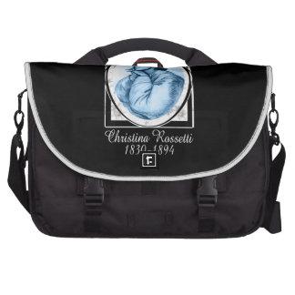 Christina Rossetti Laptop Messenger Bag