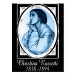 Christina Rossetti Post Card
