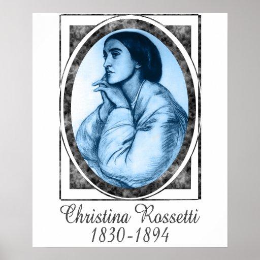 Christina Rossetti Poster