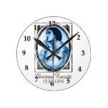 Christina Rossetti Round Clock