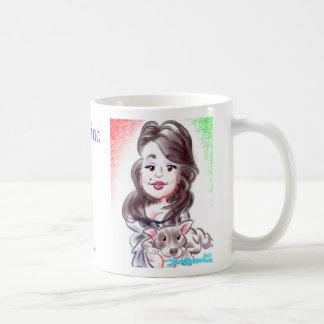 Christina's Caricature Mug