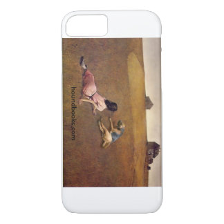 Christina's World With Wimsey the Bloodhound iPhone 8/7 Case