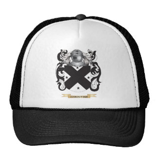 Christine Coat of Arms Trucker Hat