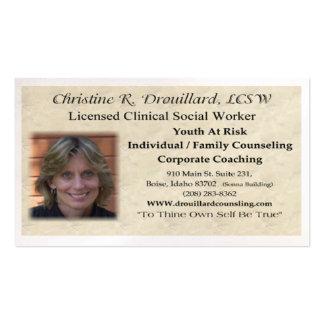 Christine Drouillard Business Card