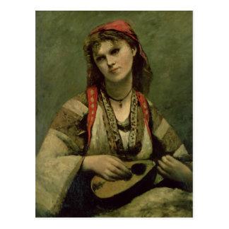 Christine Nilson  or The Bohemian with a Postcard