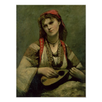Christine Nilson  or The Bohemian with a Print