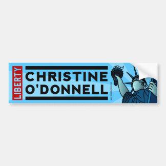 Christine O'Donnell 2010 American Liberty Bumper Sticker