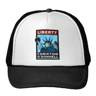 Christine O'Donnell 2010 American Liberty Trucker Hat