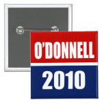 CHRISTINE O'DONNELL 2010 BUTTONS